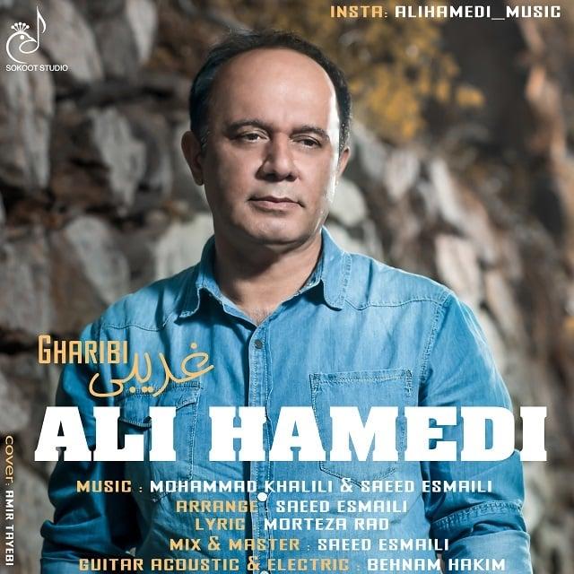 دانلود آهنگ علی حامدی به نام غریبی