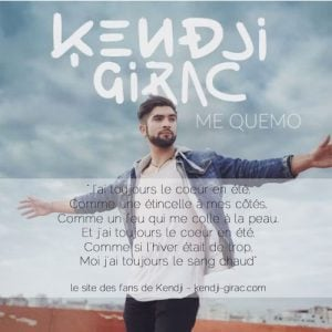 Download New Music By Kendji Girac Called Me Quemo