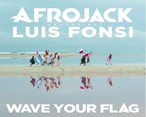 دانلود آهنگ Afrojack ft Luis Fonsi به نامWave Your Flag