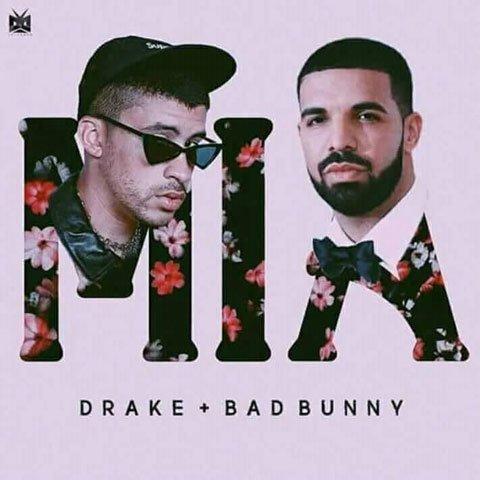 دانلود آهنگ Bad Bunny و Drake به نام MIA