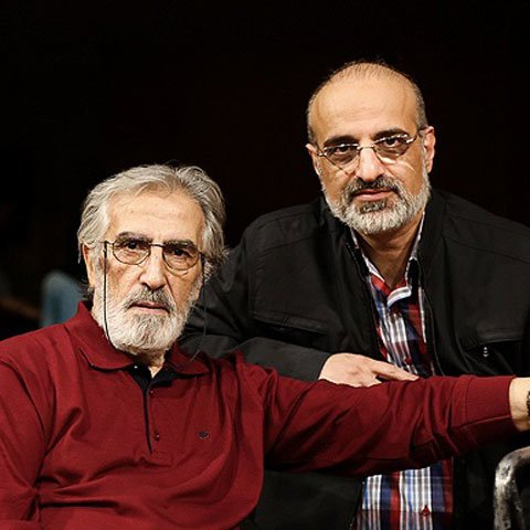 محمد اصفهانی و فریدون شهبازیان در ارکستر ملی