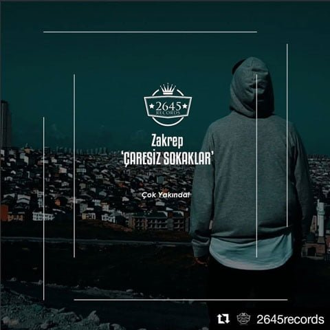 دانلود آهنگ Zakrep به نام Çaresiz Sokaklar