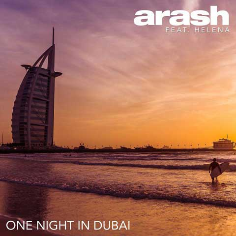 دانلود آهنگ آرش به نام یک شب در دبی