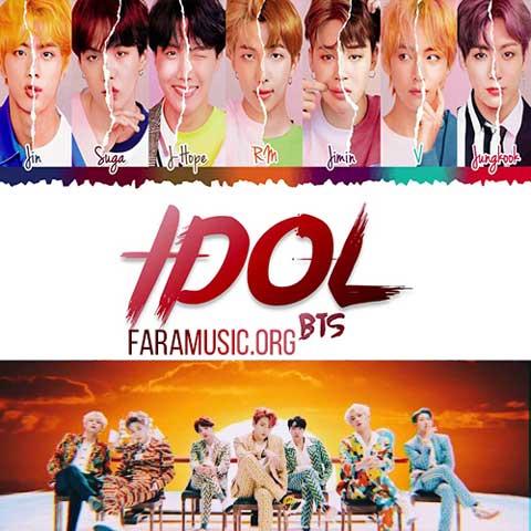 دانلود آهنگ کره ای Bts به نام IDOL