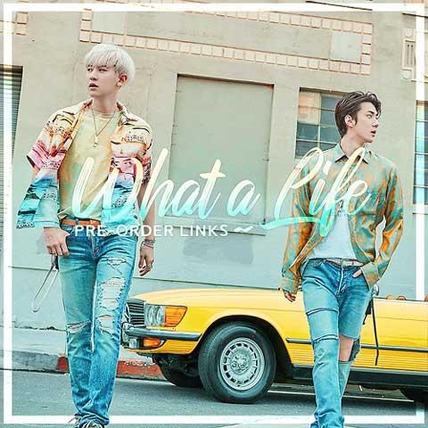 دانلود آهنگ کره ای EXO SCHEDULE به نام What a life