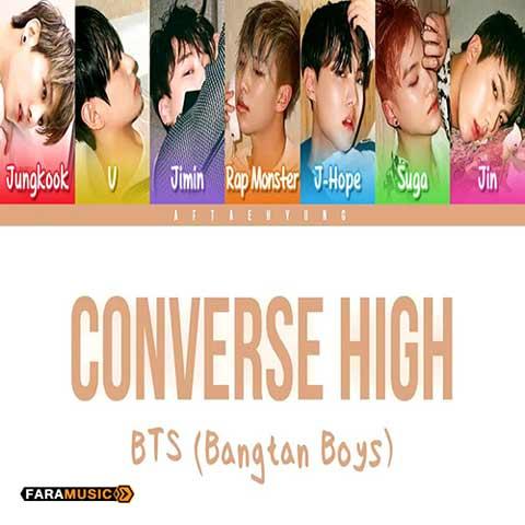 دانلود آهنگ کره ای BTS به نام Converse High